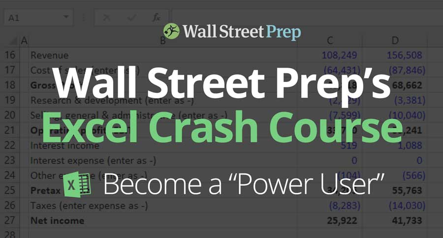 Master Excel with Wall Street Prep's Excel Course - Wall
