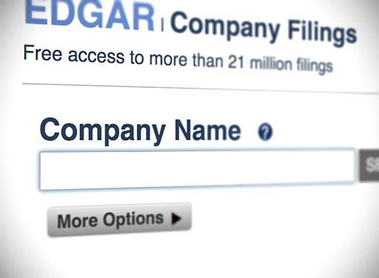 sec edgar company search