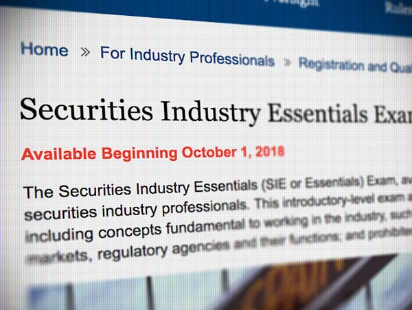 A Complete Guide To The Securities Industry Essentials SIE