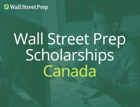 Wall Street Prep business scholarship in Canada
