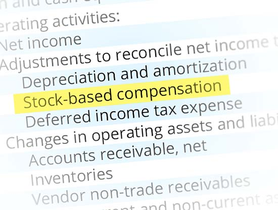 Stock Based Compensation Accounting: Journal Entries - Wall