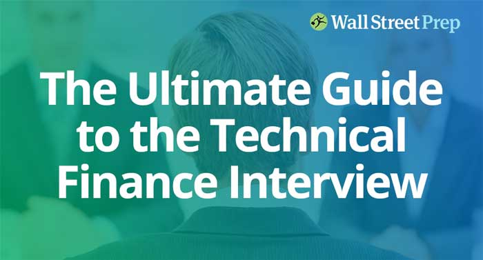 Technical Finance Interview Questions and Finance Interview