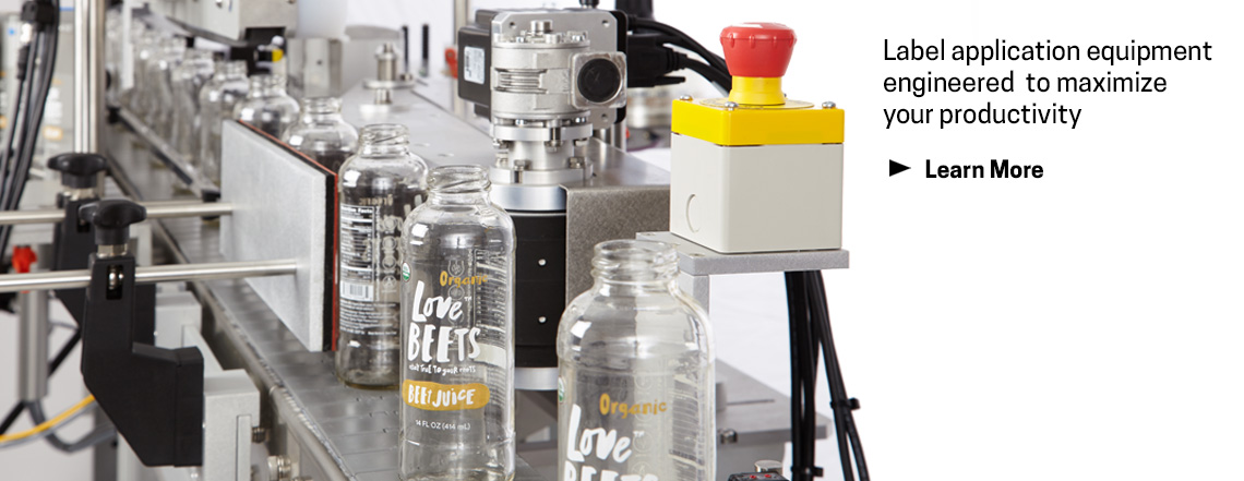 Web Banner For Labeling Equipment