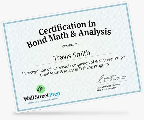 Crash Course in Bonds | Wall Street Prep - Wall Street Prep