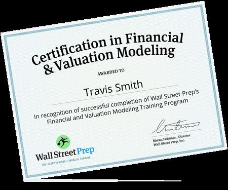 learn financial modeling: wall street prep premium package - wall ...