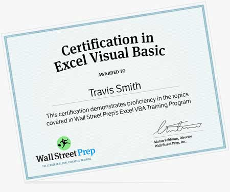 The Ultimate Excel VBA Online Course and VBA Certification