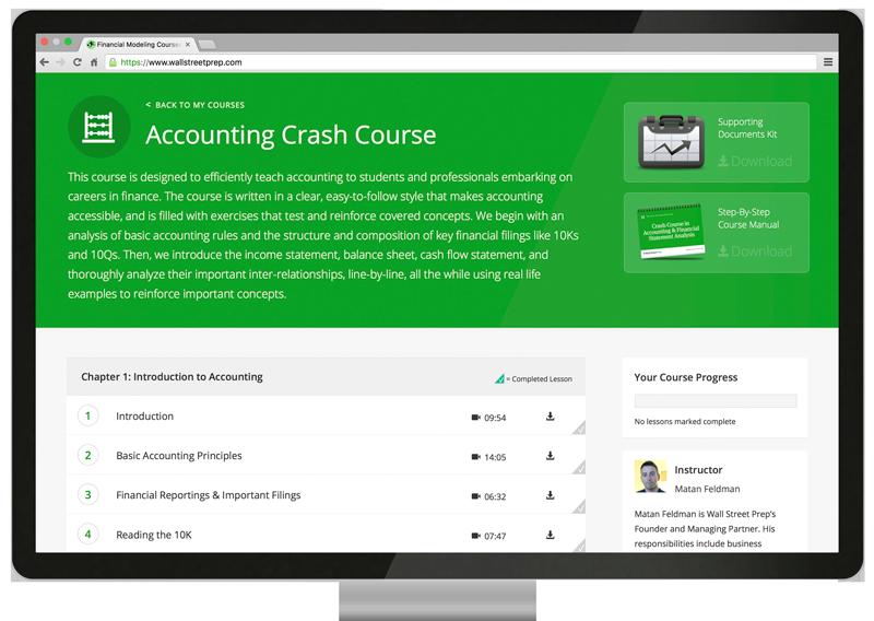course screenshots