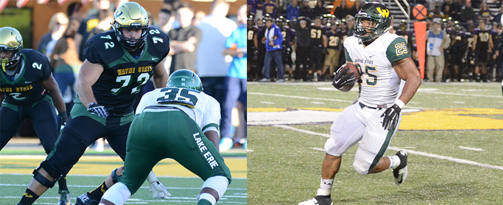 Theaker And Brown Earn All America Honors From D2football Com