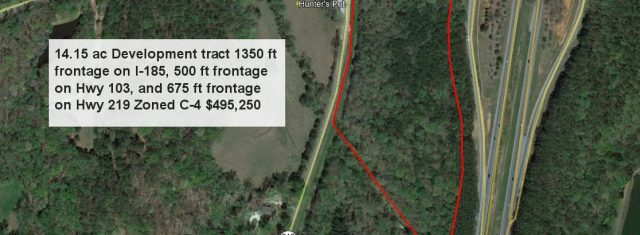 Commercial Development tract I-185 Columbus Ga