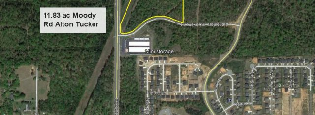 11.83 ac Commercial Site Warner Robins, Ga
