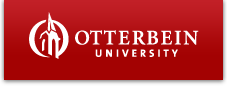 Otterbein University Logo - Links to home page