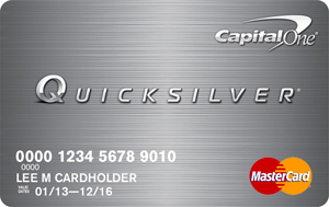 Capital One Quicksilver $1,000