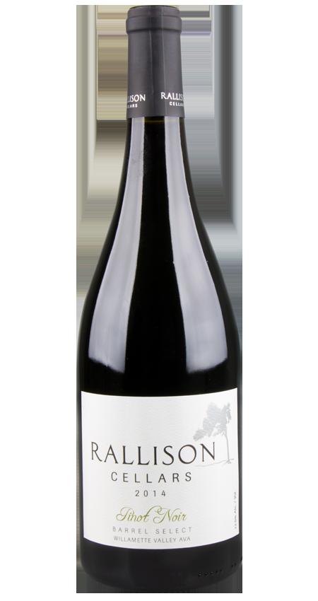 Rallison Cellars Willamette Valley Pinot Noir 'Barrel Select' 2014