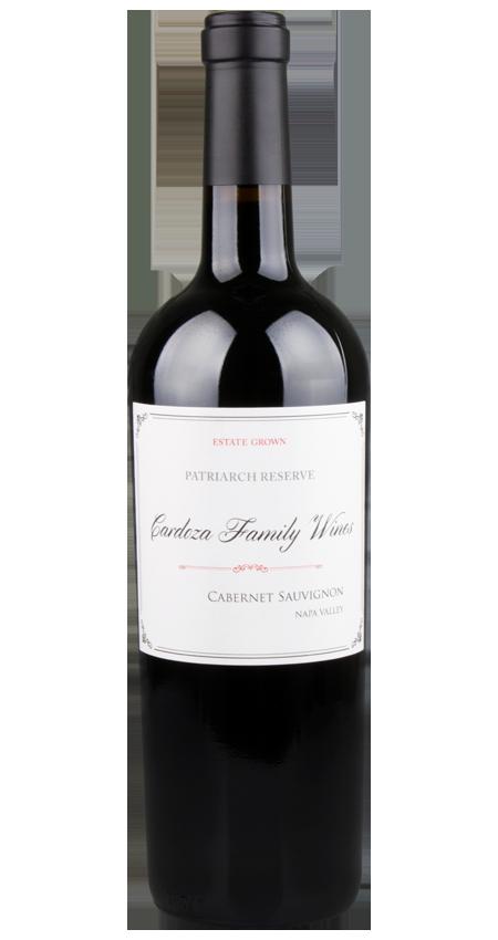 Cardoza Family Winery Napa Valley Cabernet Sauvignon 2018 Patriarch Reserve