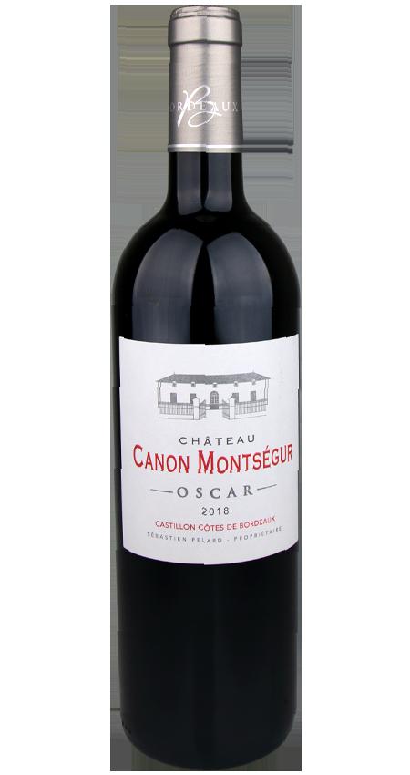 Château Canon Montségur Côtes de Bordeaux Cuvée Oscar 2018