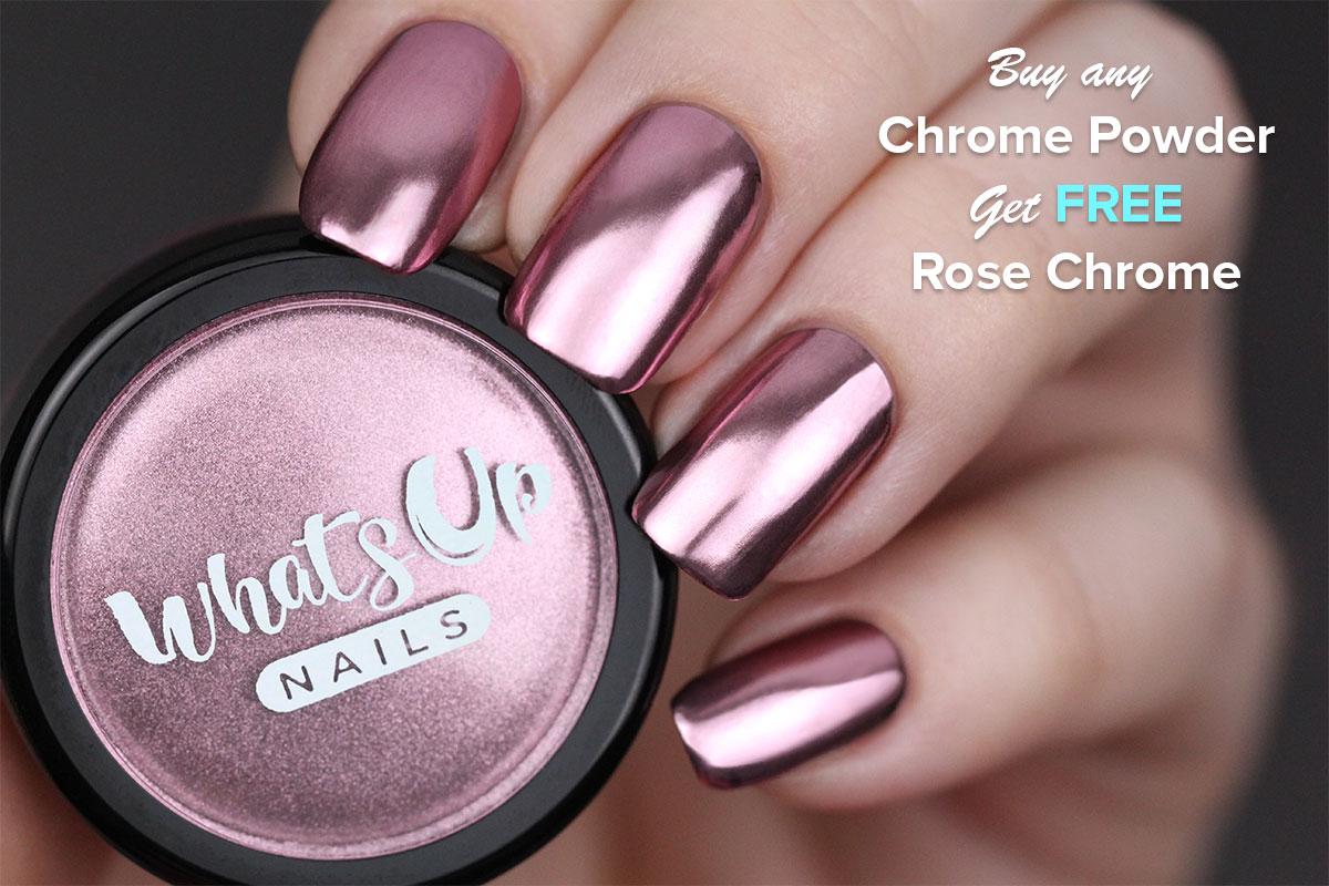 Buy any Chrome Powder Get FREE Rose Chrome Powder