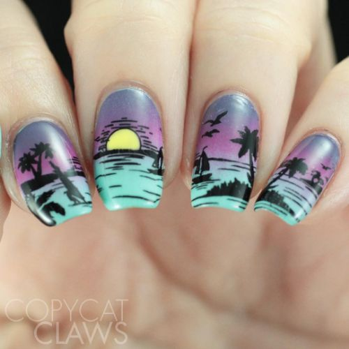 03fad3eef Check out these stunning nail designs by talented clairestelle8,  aanchysnails,copycatclaws, themermaidpolish and polishedjess using new  stamping plate ...