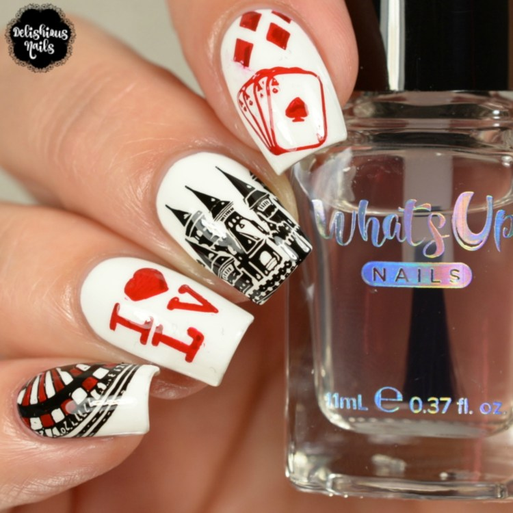 Whats Up Nails - A004 Sin City Life | Whats Up Nails