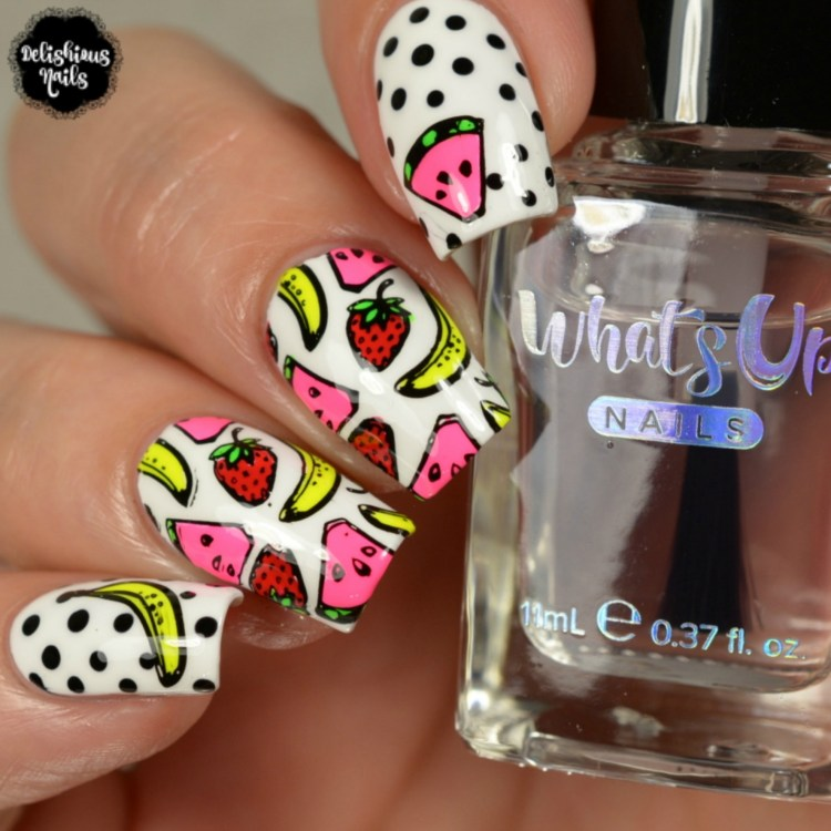 Whats Up Nails - B029 Picnic in the Park | Whats Up Nails