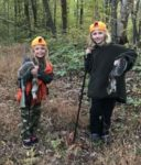 Cousins Braylee and Laurel Pugh of Beaver, W.Va. had a great afternoon of squirrel hunting in 2019 on the Burnsville WMA in Braxton County.