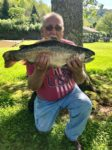 Chuck Bickel of Webster Springs, W.Va. caught this rainbow trout while fishing in the tail waters of Burnsville Lake in May 2019. Fish weighted 8.5 pounds and was 24.5 inches long.