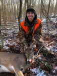 Colton Wiseman, 18, of Shady Spring, W.Va. with his first 8 point buck killed during the 2019 rifle season.