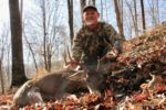 Ernest Staddon of Morgantown with a buck killed on the opening day of of 2019 in Ritchie County, W.Va.