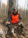 Gary Lane of Waverly, W.Va. killed this nice 12 point buck on the opening day of the 2019 rifle season in Wood County, W.Va.