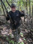 Hunter Faulkner of Bridgeport killed his first squirrel during the 2019 hunting season in Nicholas County with a pellet rifle.