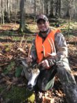 Jeremy Bailey of Richwood, W.VA. with a nice 11 point buck killed during the 2019 rifle season in Nicholas County, W.Va.
