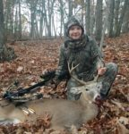 Joseph Riggleman, age 13, of Moorefield, W.Va. with a buck killed during the 2019 season