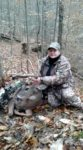 Linda Snyder of Kincaid, W.Va. with a 10 point buck killed with a crossbow in Fayette County, W.Va.