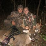 Mazee Dalton of Morgantown killed her first buck with a bow during the 2019 bowhunting season.