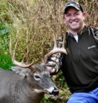 Nick Riggins of Elkins, W.Va. with a 10 pt buck killed on the opening day of the 2019 archery season in Preston County.