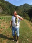 Richard Mallory of South Charleston, W.Va. caught in September 2019 at Chief Logan State Park Pond in Logan County.