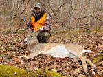 Todd White of Clarksburg, W.Va.  killed this nice buck during the 2019 rifle season while hunting a farm in Taylor County, W.Va.