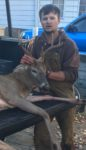 Tomas Blankenbeckler of Stollings, W.Va. shot this nice buck only ten minutes after climbing into the stand on his first day of hunting.