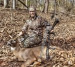 Wesley Caruthers of Sissonville, W.Va. killed this nice buck during the rut in November 2019.