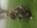 William Walter and his son Marco score during the 2020 youth spring gobbler season.