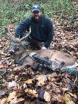 Chad Dickerson of Kenna, W.Va. had this 10 point walk by without presenting a shot while hunting in Cabin Creek area of Kanawha County.  He hunted two more weeks, and finally got the shot.