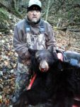 Doug Snyder of Kincaid, W.Va. killed his first ever bear with a cross bow in November 2019.