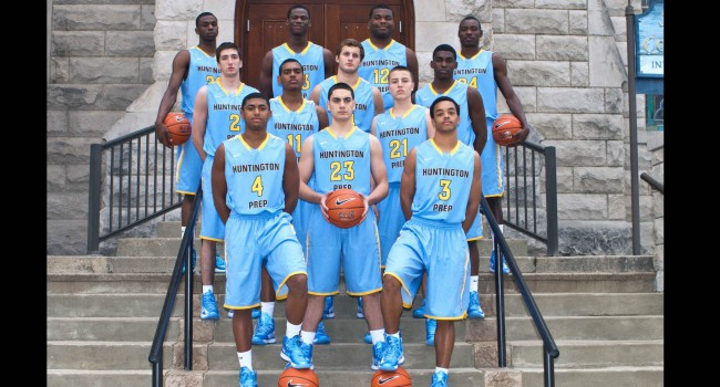 The 2012-2013 Huntington Prep basketball team has made its mark in the national rankings.