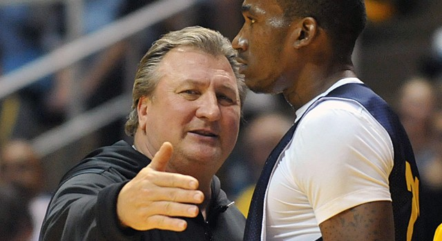 Bob Huggins says West Virginia hasn't held up its end of the bargain to make Saturday's matchup against Michigan a marquee national game.