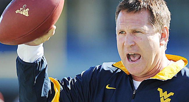 WVU defensive coordinator Keith Patterson