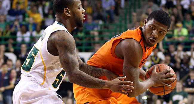 Oklahoma State point guard Marcus Smart—who else?—was the coaches' pick for Big 12 preseason player of the year Thursday.