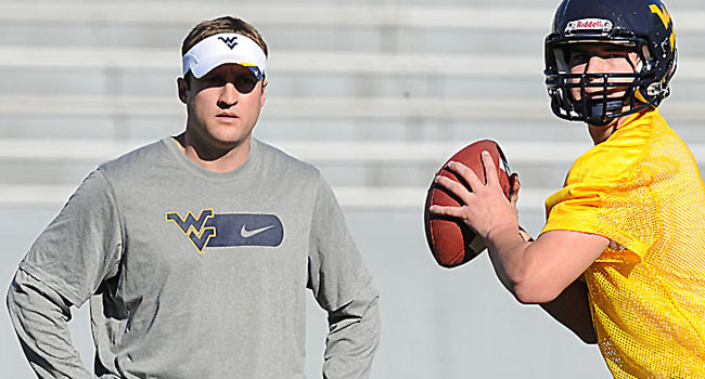A source within the WVU athletics department confirmed that quarterbacks coach Jake Spavital has accepted the same position at Texas A&M.