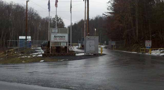 Entrance to United Coal's Affinity Mine in Raleigh County