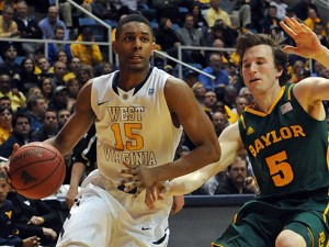 Slowed by a midseason back injury, Terry Henderson started 11 games for West Virginia as a freshman and shot 40 percent from 3-point range.
