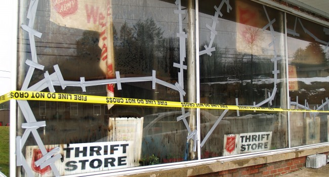 Inventory at the Summersville Salvation Army store is a total loss following a Friday morning blaze.