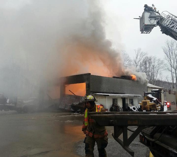 Propane truck ignites in Barbour Co. - WV MetroNews